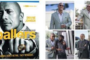 "Complete First Season ""Ballers"" Starring Dwayne Johnson"