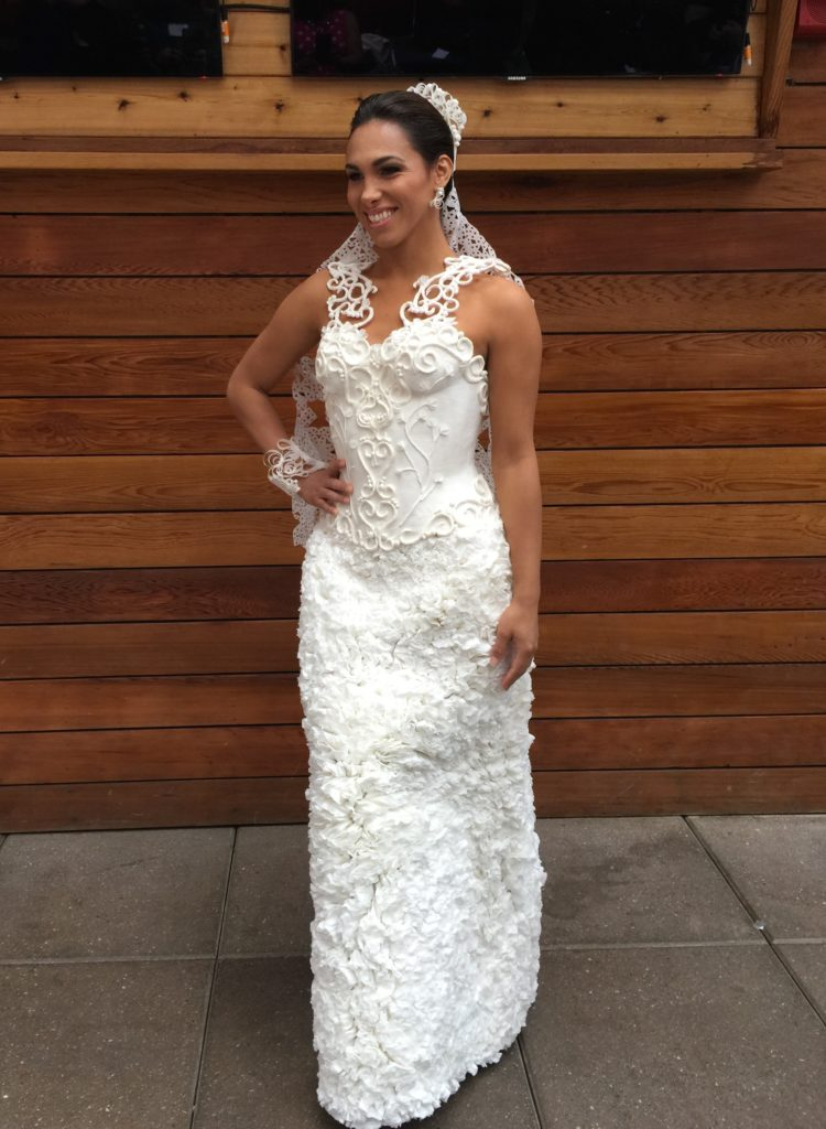 Charmin Cheap Chic Weddings Toilet Paper Wedding Dress Contest