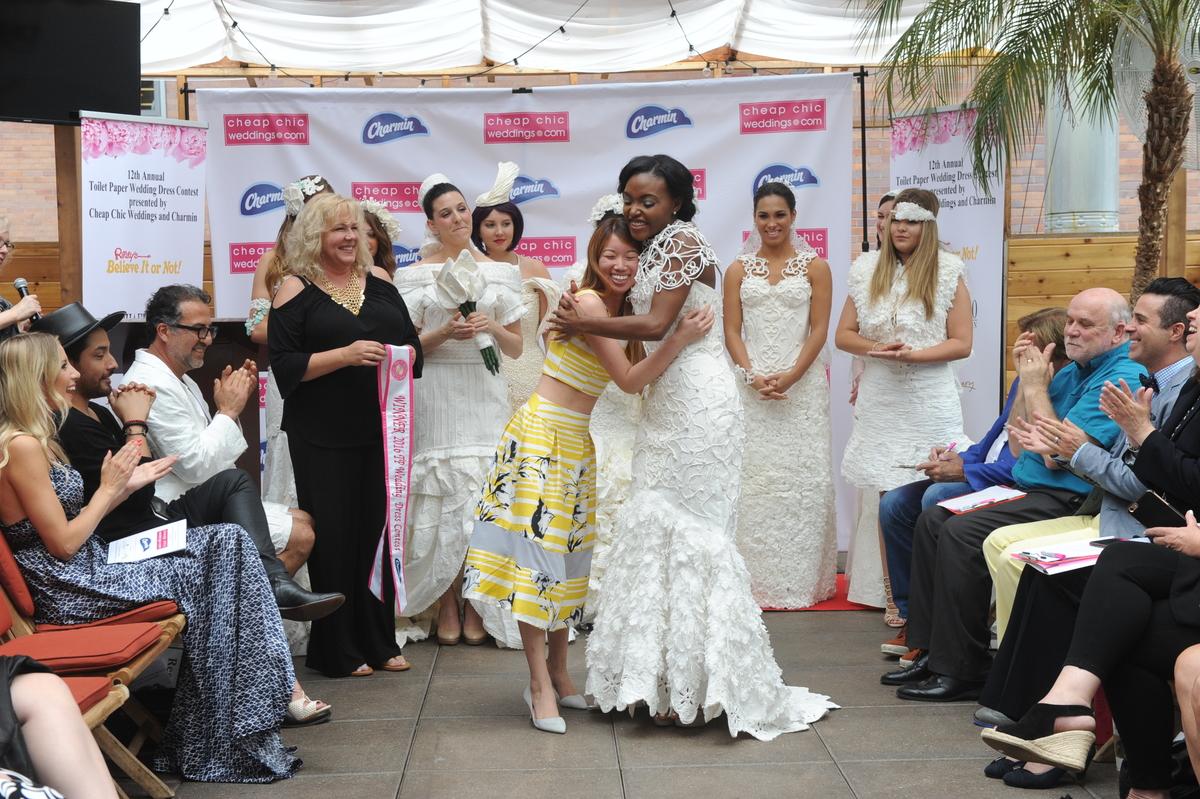 Charmin Cheap Chic Weddings Toilet Paper Wedding Dress