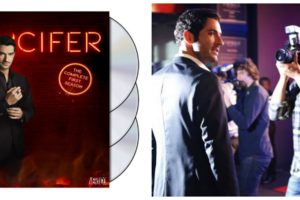 Lucifer the Complete First Season Now on Blu-Ray and DVD