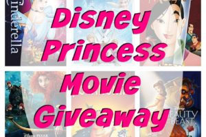 Win the Entire 11 Movies from The  Disney Princess Movie Collection