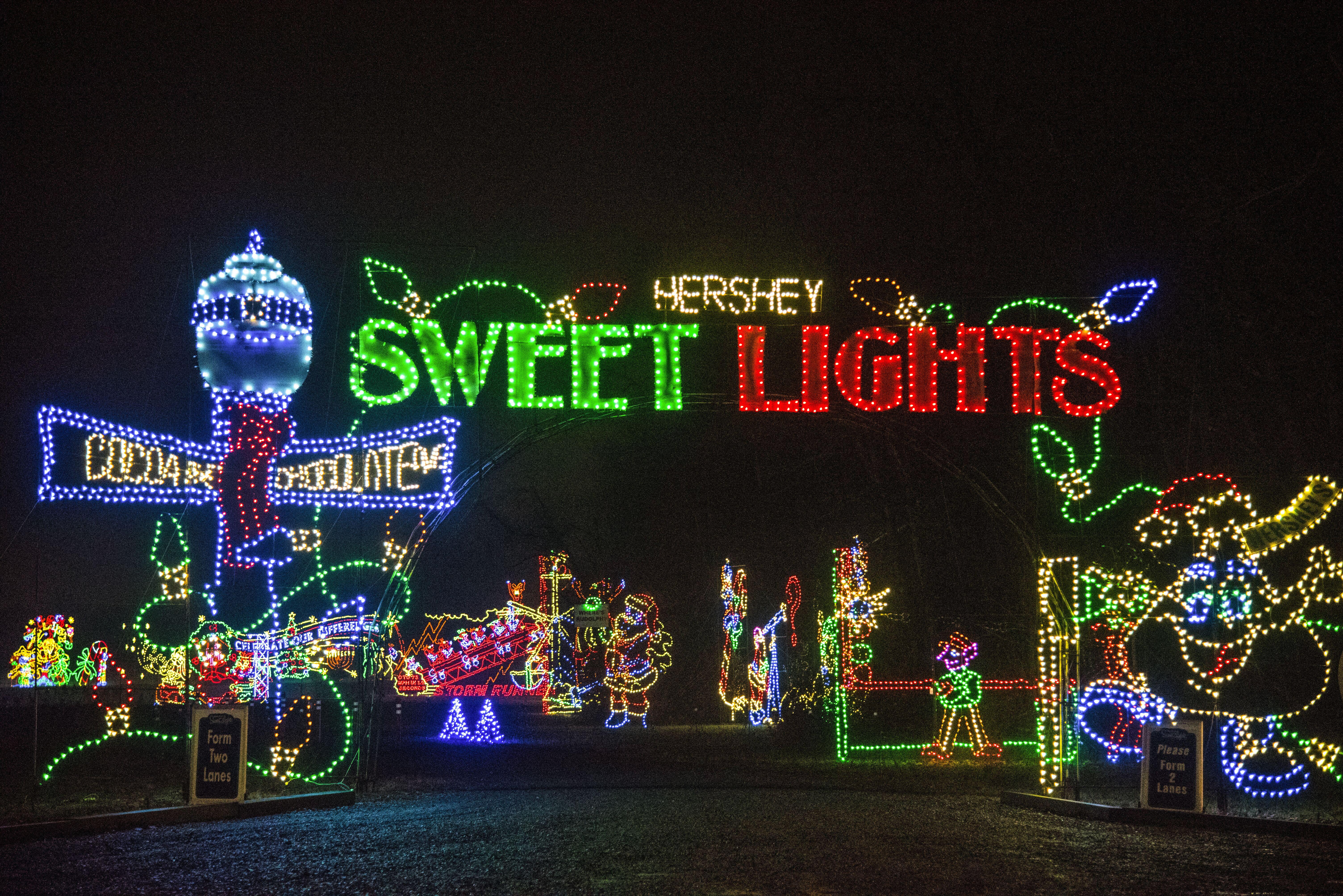 """""""Hershey Lights, Hersheypark"""""""