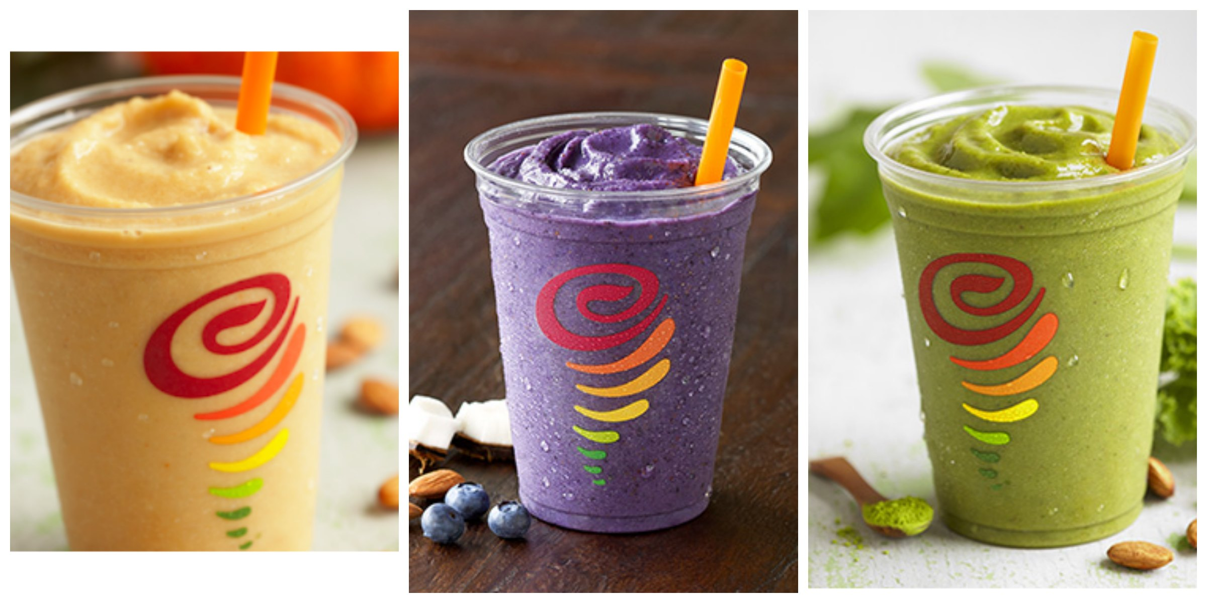 Make your favorite Jamba Juice smoothie at home! Not only is it super delicious, but it's healthy too!