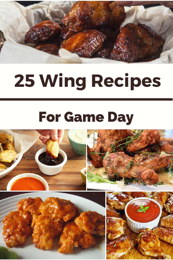 """Wing Recipes for Game Day, Wing Recipes, Super Bowl recipes"""