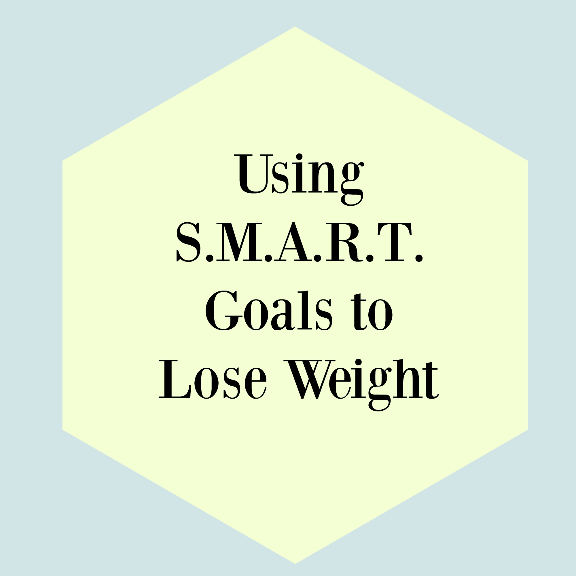 goal to lose weight