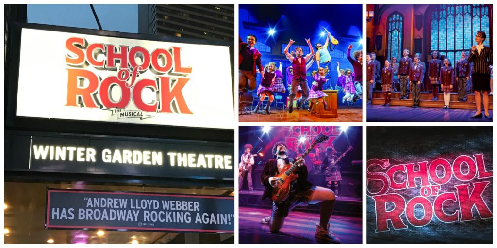 Review School Of Rock Is A Rocking Good Time Nyc Single Mom