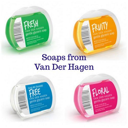 Soaps from Van Der Hagen