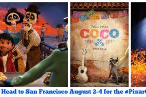 Exclusive Announcement –  Headed to  Disney/Pixar's COCO Press Event at Pixar Animation Studios