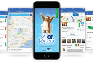 Find a Bathroom When You Need It with @Charmin Sit or Squat App