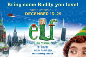 "See ELF The Musical"" At Madison Square Garden December 13-29! Buy Tickets Now With This Discount Code! @TheGarden #ad"