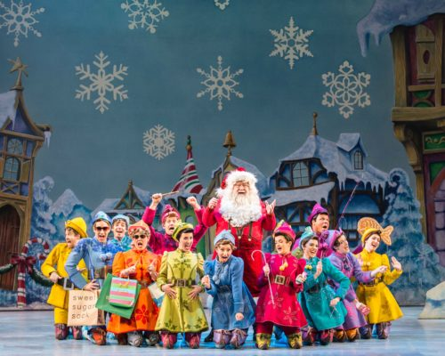 Elf The Musical At Madison Square Garden In Nyc Thegarden Ad Nyc Single Mom