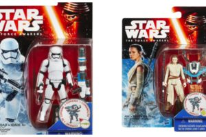 STAR WARS #ForceAwakens Rey and Stormtrooper Figure
