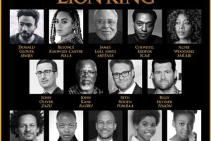 The All-Star Line for the The Lion King is Announced and I am not happy Beyoncé is in the cast #TheLionKing