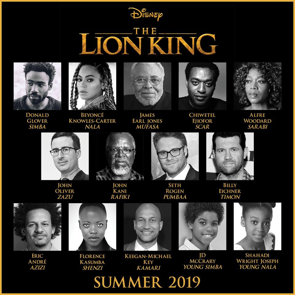 Who plays scar in the new lion king