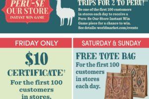World Market Black Friday Deals & Daily Giveaways   #GiftThemJoy #worldmarkettribe