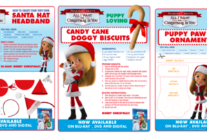 Mariah Carey's All I Want For Christmas Is You  Downloadable Activity Kit #AllIWantMovie