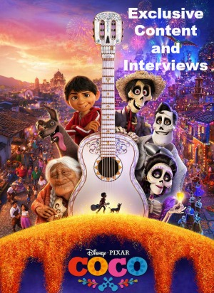 Disney Pixar COCO Exclusive Content