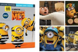 GIVEAWAY: Despicable Me 3 Special Edition Now Available on Blu-ray & DVD  Is Hilarious and Perfect for Holiday Gifting  #DespicableMe3 #DM3family