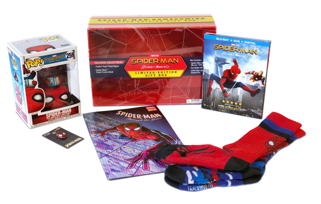 Spider-Man: Homecoming Limited-Edition Gift Box Available Exclusively at @Walmart