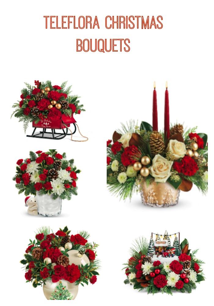 """""""Teleflora, christmas flowers, christmas gifts"""""""