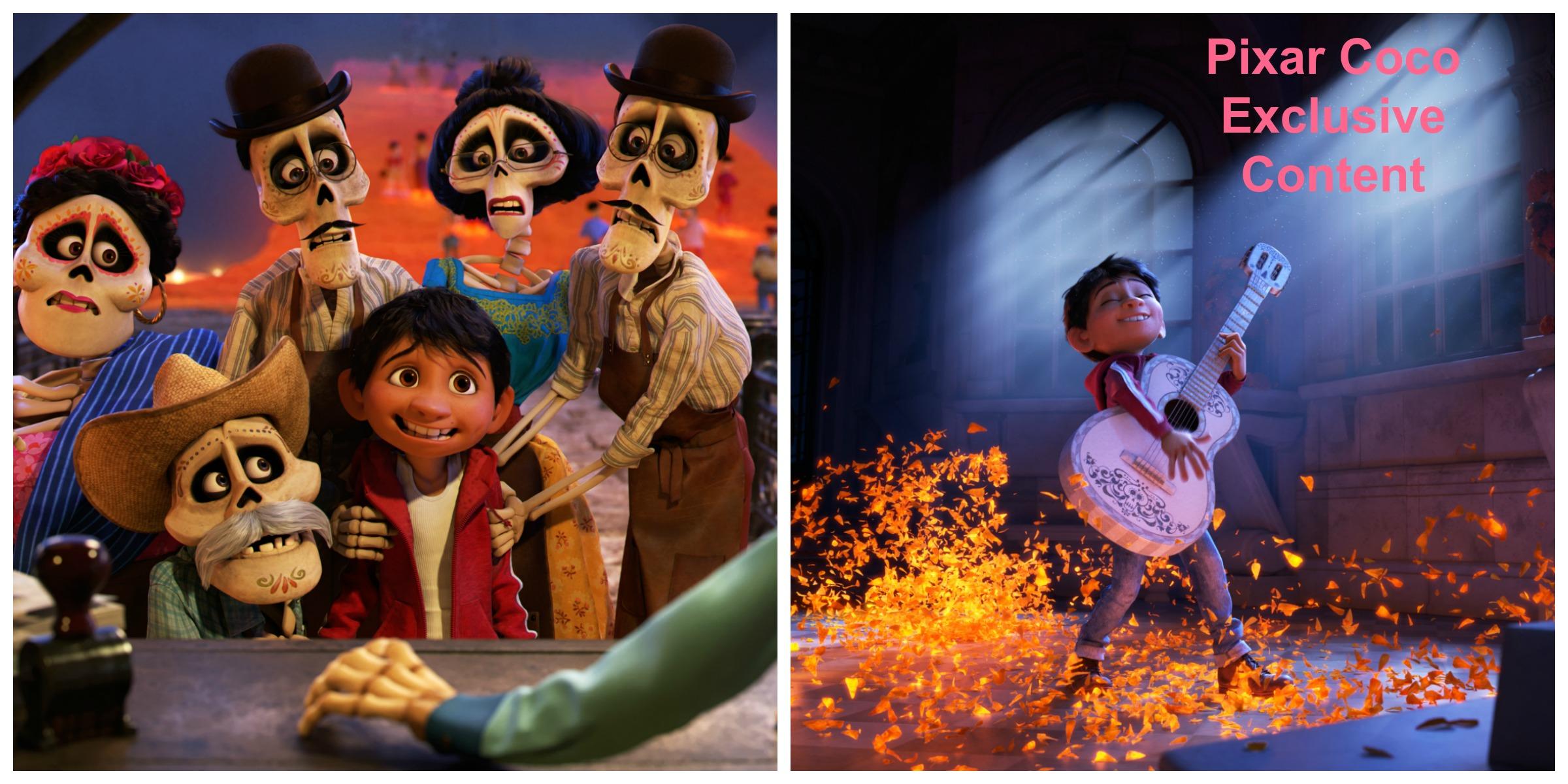 Pixar COCO Exclusive Interviews and Content @PixarCOCO #PixarCocoEvent