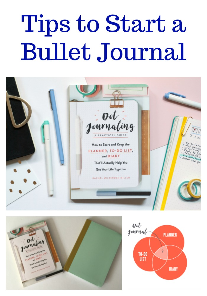 Organize your life, record what matters, and get stuff done with Dot Journaling (How to Start a Bullet Journal)
