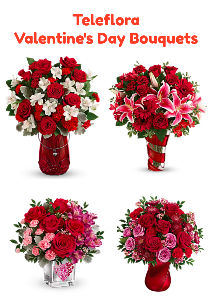 giveaway: gift your loved one a teleflora valentine's day bouquet, Ideas