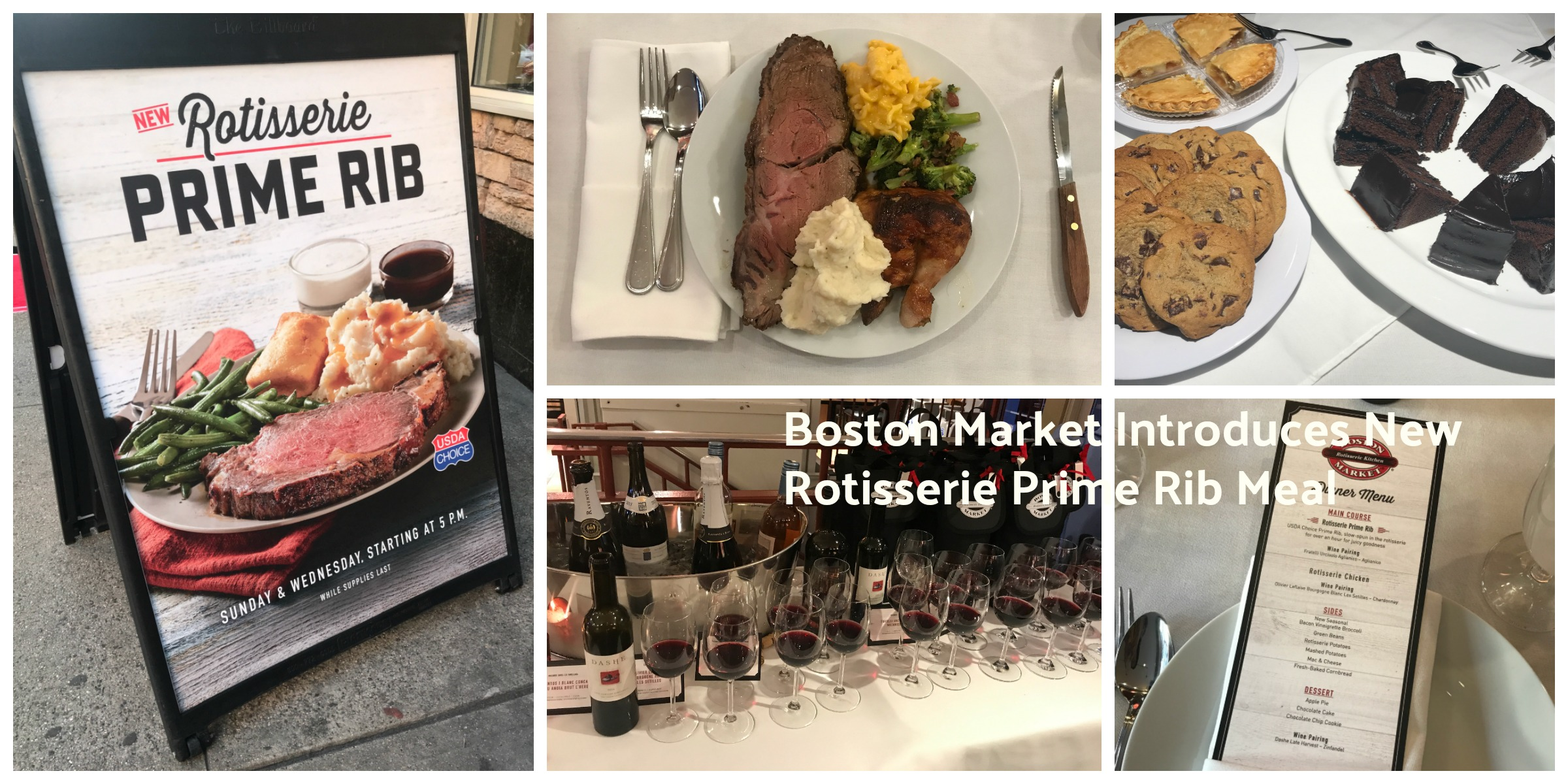 Boston Market Introduces New Rotisserie Prime Rib Meal And Its A Winner Bostonmarket Bostonmarketprime Nyc Single Mom