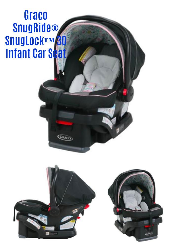 giveaway graco snugride snuglock 30 infant car seat gives parents peace of mind gracobaby. Black Bedroom Furniture Sets. Home Design Ideas