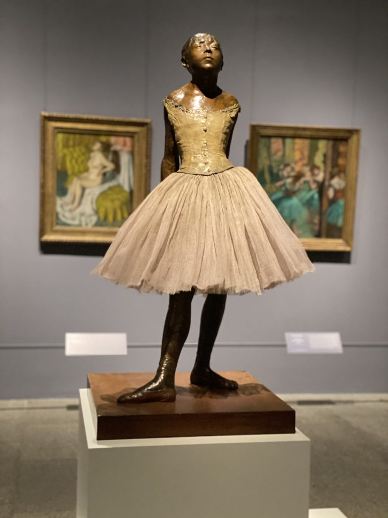 Degas ballet dancer The Met